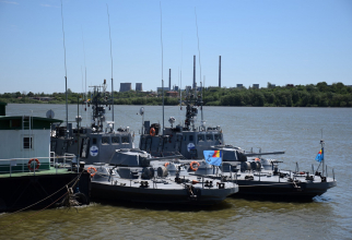 Vedete blindate ale Flotilei Fluviale. Sursa Foto: Navy.ro