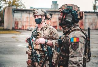Foto: căpitan Roxana Davidovits via. Forțele pentru Operații Speciale Române