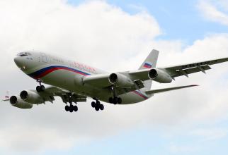 Il-96-300 Sursa foto: Twitter/BoardingPass