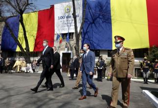 Klaus Iohannis, președintele României și premierul Florin Cîțu. Sursă foto: Florin Cîțu Facebook