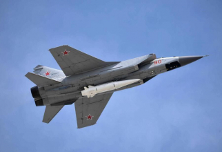MiG-31 Sursa foto: Russian Defense Ministry