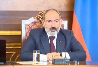 Primul ministru Nikol Pashinyan Sursa foto: Captură video
