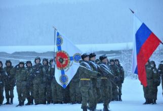 Armata Rusiei, în zona Arctică, sursă foto: Ministerul Apărării de la Moscova