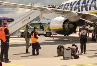 Cursa Ryanair în care a fost deturnată de Belarus
