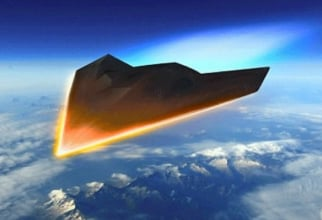 Sistem hipersonic, imagine concept. Sursă foto: The Missile Defense Agency USA (MDA)