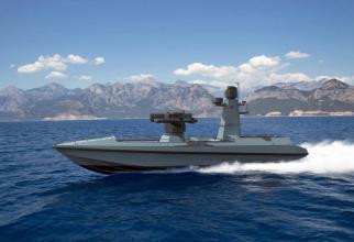 Drona navală ULAQ, sursă foto: Ares Shipyard