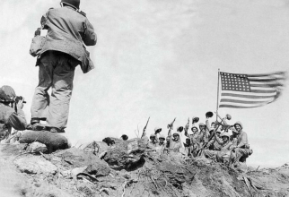 US Army, la Iwo Jima. Sursă foto: ABC News