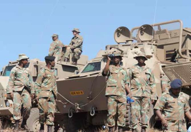 Soldați ai Armatei Africii de Sud, sursă foto: Guvernul Africii de Sud