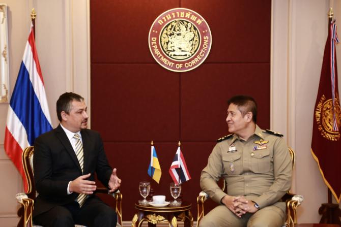 Andrii Beshta, sursă foto: Guvernul Thailandei