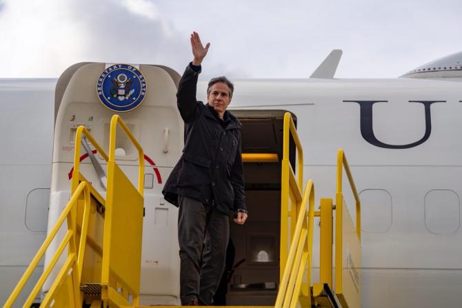 Secretarul de Stat al SUA, Antony Blinken Sursa foto: Twitter/Antony Blinken