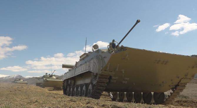 Armata azeră, sursă foto: Ministerul Apărării din Azerbaidjan Facebook