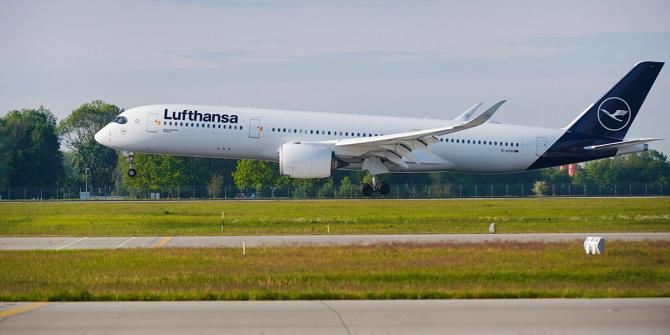 Avion compania Lufthansa Sursa foto: Lufthansa/Twitter
