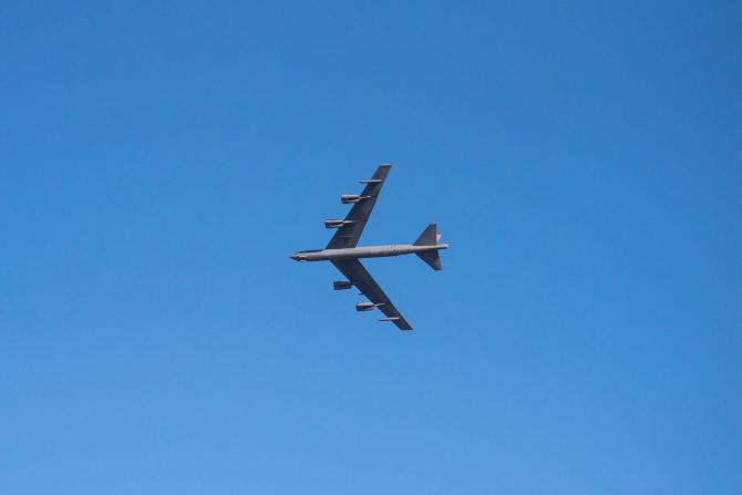 Bombardier strategic american B-52H. Sursa Foto: USAF