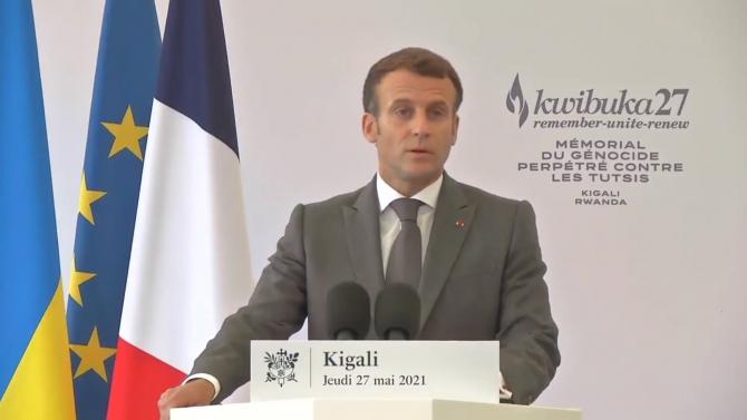 Președintele Franței, Emmanuel Macron Sursa foto: Twitter/Emmanuel Macron