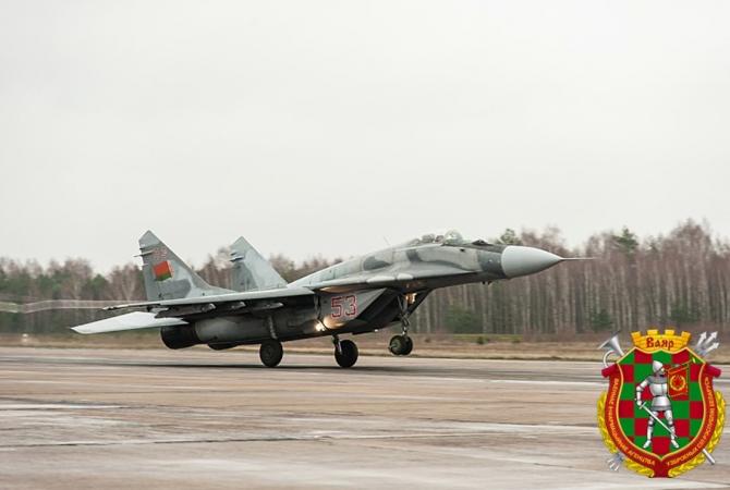 MiG-29 al Belarusului, sursă foto: Ministerul Apărării din Belarus