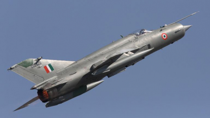 MiG-21 Bison al Forțelor Aeriene Indiene