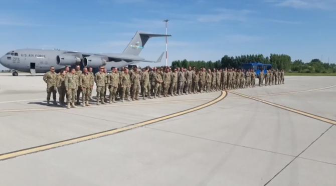 Militari români întoarcere Afganistan Sursa foto: MApN/Facebook