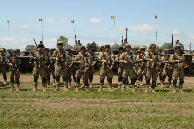 Militari romani Sursa foto: MApN