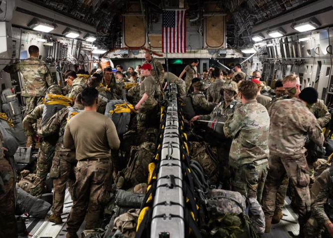 Sursă foto: 82nd Airborne Division