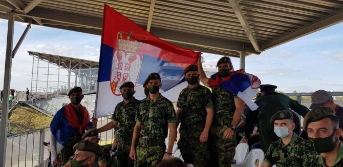 Soldați ai Armatei Serbiei. Sursă foto: Ministerul Apărării de la Belgrad