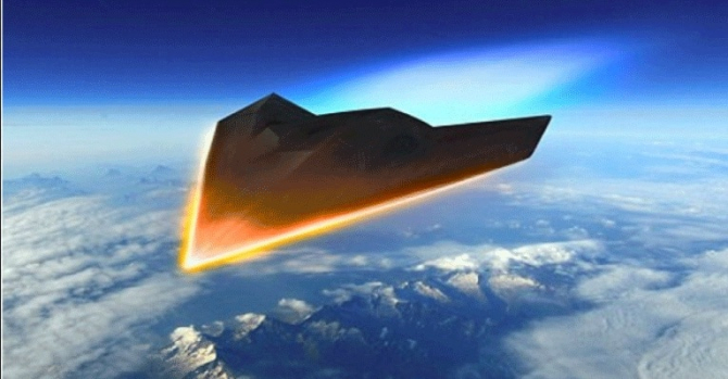 Sistem hipersonic, imagine concept. Sursă foto: The Missile Defense Agency USA (MDA)