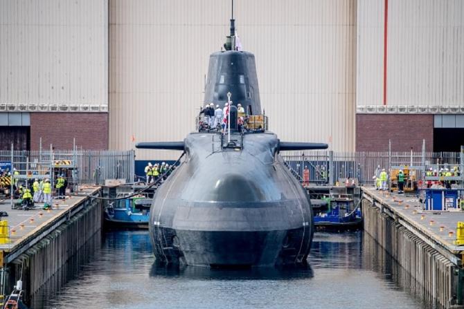 Submarinul HMS Anson Sursa foto: BAE Systems