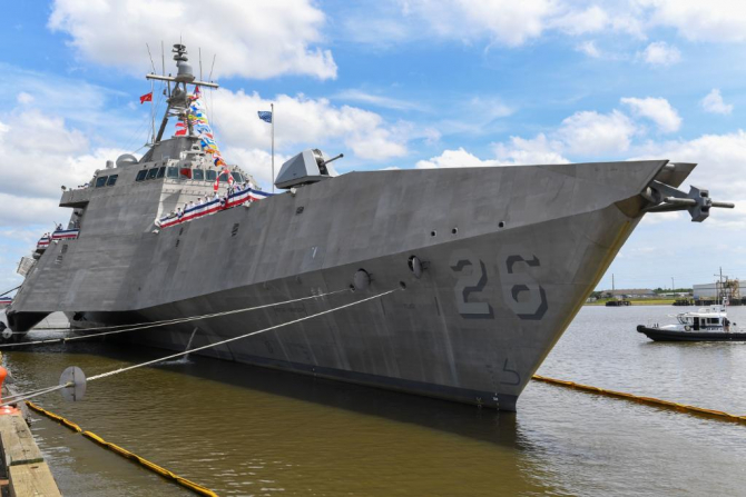 USS Mobile Sursa foto: US Navy/Twitter
