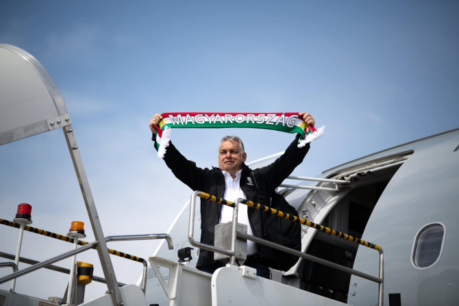 Premierul maghiar Viktor Orban, sursă foto: Viktor Orban Facebook