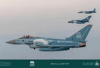 Forțele Aeriene ale Regatului Arabiei Saudite, sursă foto: Ministerul Apărării din Arabia Saudită (Facebook) وزارة الدفاع