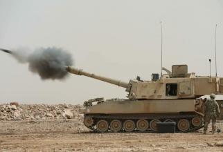 Artilerie autopropulsata M109A6 Paladin Sursa foto: Anass sh/Twitter