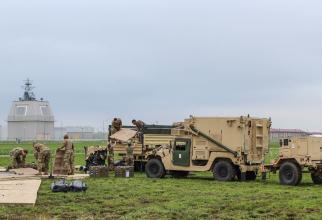 Baza militară de la Deveselu, sursă foto: US Navy