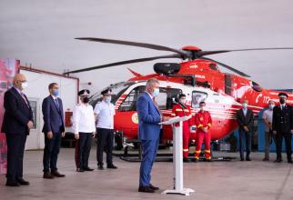 Elicopter SMURD Sursa foto: Lucian Bode/Facebook