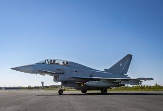 Germania, Eurofighter Typhoon al Forțelor Aeriene Germane, sursă foto: Bundeswehr