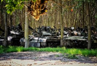 """Exercițiului multinațional """"ARGEDAVA 21"""". Sursa Foto: Brigada Mecanizată """"Argedava""""."""