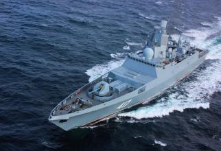 Fregata Amiral Gorshkov Sursa foto: Ministerul Apărării din Rusia
