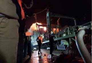 Incendiu nava IRIS Kharg Sursa foto Aleph/Twitter