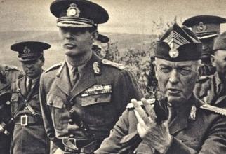 Regele Mihai I al României și generalul Ion Antonescu