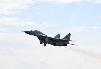 MiG-29 Sursa foto: Exercițiul militar Shabla 21/US Air Force
