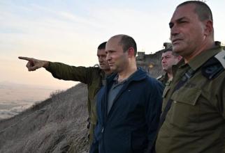 Noul premier desemnat al Israelului Naftali Bennett: Susa Foto: Ministerul israelian al Apararii