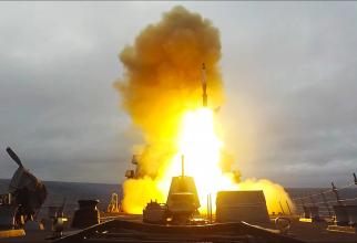 Test racheta SM-3 Sursa foto: US Navy