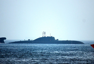 Submarinul rusesc Nerpa (K-152) din clasa Akula-2. Sursa foto: Forțele Navale ale Indiei.
