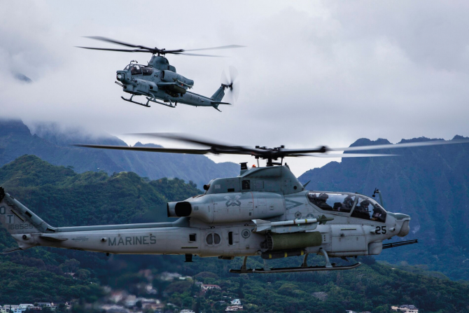 AH-1Z Viper, sursă foto: Bell