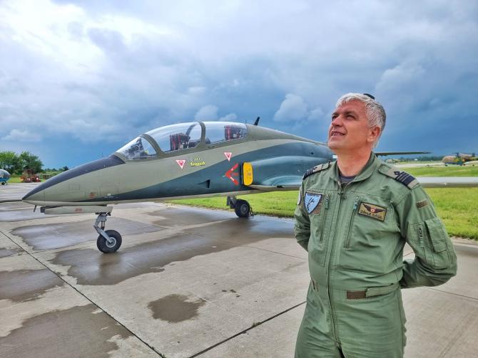 Comandorul Dănuț Sava. Sursă foto: MApN