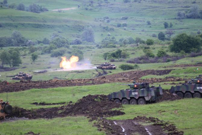 "Exerciții NATO ""STEADFAST DEFENDER 21"". Sursa Foto: Forţele Terestre Române."