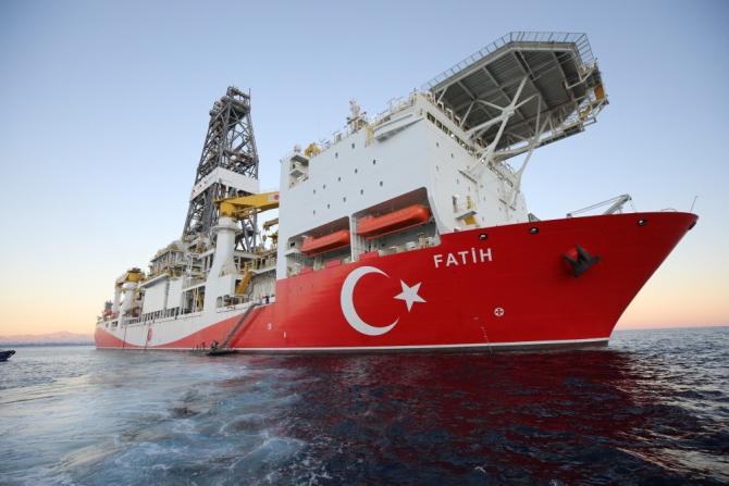 Nava de foraj Fatih a Turciei