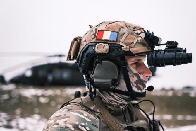 Sursă foto: Forțele pentru Operații Speciale Române - Facebook