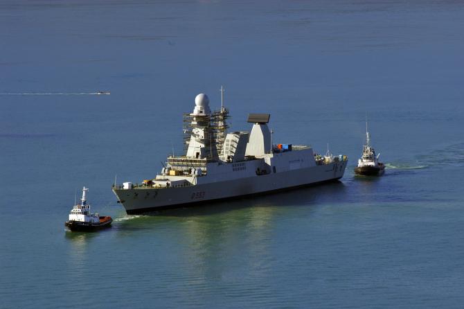 Fregata FREMM Sursa foto: Fincantieri