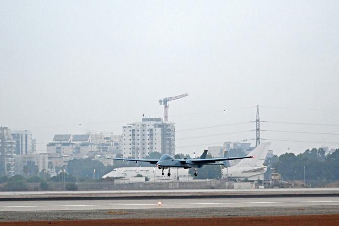 Drona Heron Sursa foto: Israel Aerospace Industries