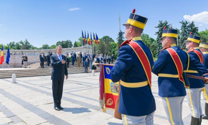 Klaus Iohannis, președintele României. Sursă foto: Administrația Prezidențială