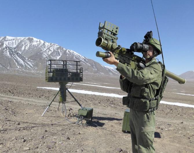 Lansator portabil Verba Sursa foto: Ministerul Apărării din Rusia